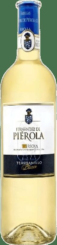 Envío gratis | Vino blanco Piérola D.O.Ca. Rioja España Tempranillo Botella 75 cl