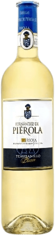 Free Shipping | White wine Piérola D.O.Ca. Rioja Spain Tempranillo Bottle 75 cl