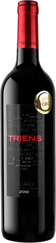 Free Shipping | Red wine Legado de Orniz Triens Crianza D.O. Toro Spain Tinta de Toro Bottle 75 cl