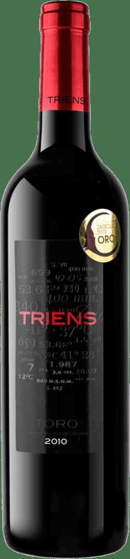 Envío gratis | Vino tinto Legado de Orniz Triens Crianza D.O. Toro España Tinta de Toro Botella 75 cl