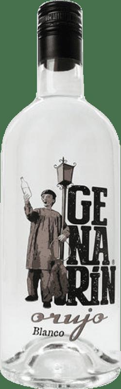 Envío gratis | Orujo Genarín Blanco España Botella 70 cl