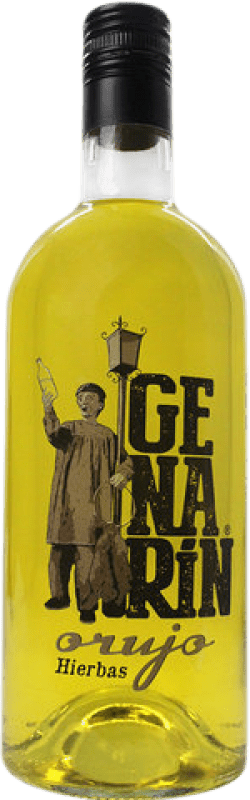 Envío gratis | Licor de hierbas Genarín Orujo de Hierbas España Botella 70 cl