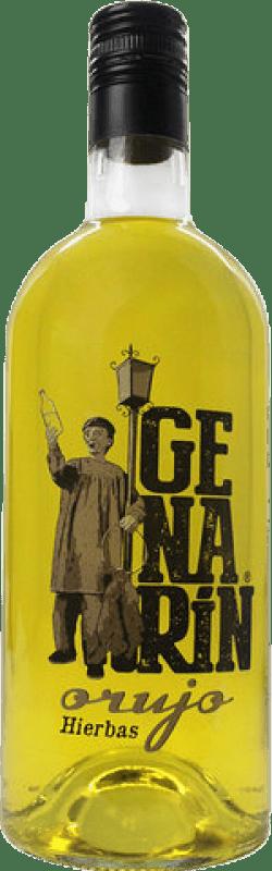 Liquore alle erbe Genarín Orujo de Hierbas Spagna Bottiglia 70 cl
