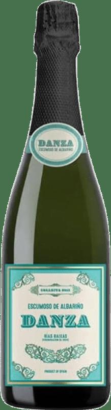 Free Shipping | White sparkling Adegas Galegas Danza Crianza D.O. Rías Baixas Spain Albariño Bottle 75 cl