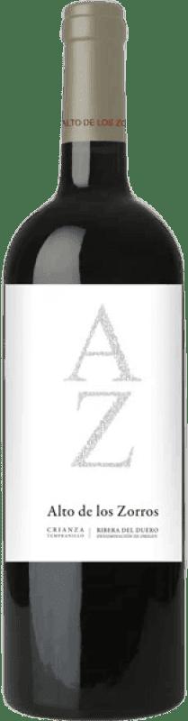 Envío gratis | Vino tinto Solterra Alto de los Zorros D.O. Ribera del Duero España Tempranillo Botella 75 cl