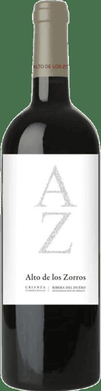 Free Shipping | Red wine Solterra Alto de los Zorros Crianza D.O. Ribera del Duero Spain Tempranillo Bottle 75 cl