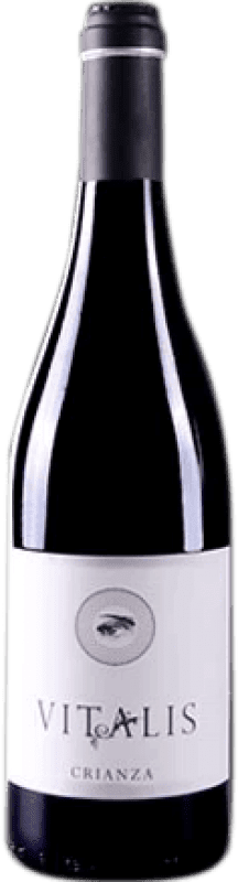 免费送货 | 红酒 Vitalis Selección Crianza D.O. Tierra de León 西班牙 Prieto Picudo 瓶子 75 cl