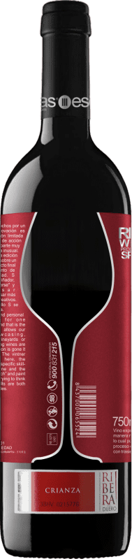 Kostenloser Versand | Rotwein Esencias «S8» 8 Meses Weinalterung D.O. Ribera del Duero Kastilien und León Spanien Tempranillo Flasche 75 cl