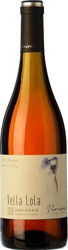 7,95 € Envío gratis | Vino rosado Viníric Vella Lola Rosat D.O. Empordà Cataluña España Garnacha Botella 75 cl
