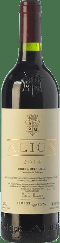 203,95 € Free Shipping | Red wine Alión Crianza D.O. Ribera del Duero Castilla y León Spain Tempranillo Magnum Bottle 1,5 L