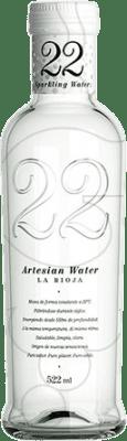 1,95 € Free Shipping | Water 22 Artesian Water Gas Spain Medium Bottle 50 cl