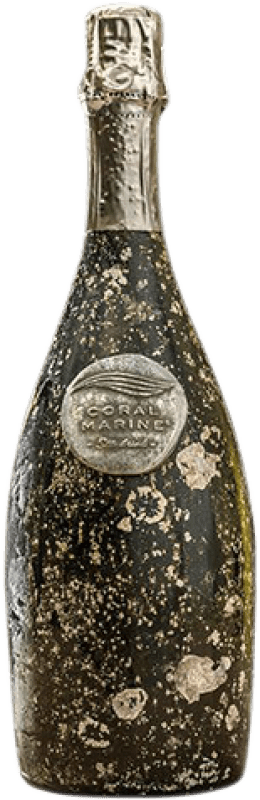 195,95 € Free Shipping | White sparkling Coral Marine Sea Drink Brut Gran Reserva D.O. Catalunya Catalonia Spain Bottle 75 cl