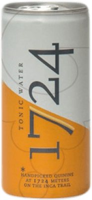 1,95 € Free Shipping   Refreshment 1724 Tonic Tonic Water Argentina Lata 20 cl