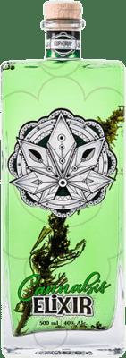 21,95 € Free Shipping | Absinthe Hill's Euphoria Elixir Cannabis Czech Republic Medium Bottle 50 cl