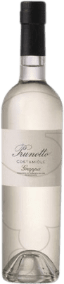 35,95 € Free Shipping | Grappa Prunotto Costamiole Italy Medium Bottle 50 cl