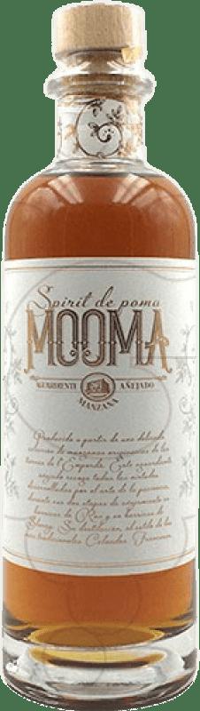 19,95 € Envio grátis | Cachaça Aguardiente Mooma Spirit de Manzana Espanha Garrafa Medium 50 cl