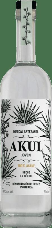 39,95 € Free Shipping | Mezcal Akul Joven Mexico Bottle 70 cl