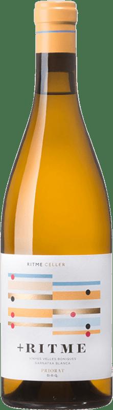 13,95 € Free Shipping | White wine Ritme Blanco Crianza D.O. Montsant Catalonia Spain Grenache White Bottle 75 cl