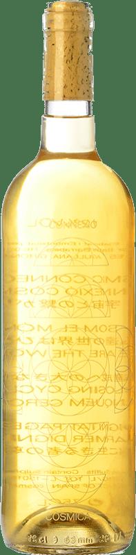 15,95 € Free Shipping | White wine Còsmic Connexió Còsmica Joven D.O. Catalunya Catalonia Spain Muscatel, Xarel·lo, Chardonnay Bottle 75 cl
