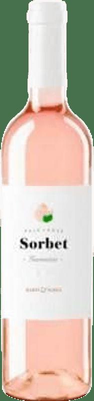 6,95 € Free Shipping | Rosé wine Martí Serdà Sorbet Garnatxa Rosat Joven D.O. Catalunya Catalonia Spain Grenache, Grenache White Bottle 75 cl