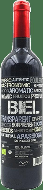 10,95 € Free Shipping   Red wine Biel Joven D.O. Penedès Catalonia Spain Merlot, Grenache Bottle 75 cl