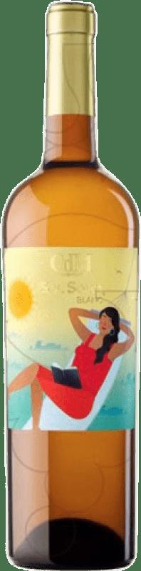7,95 € Free Shipping | White wine Sol Solet Joven D.O. Penedès Catalonia Spain Muscat, Xarel·lo, Chardonnay, Chenin White Bottle 75 cl