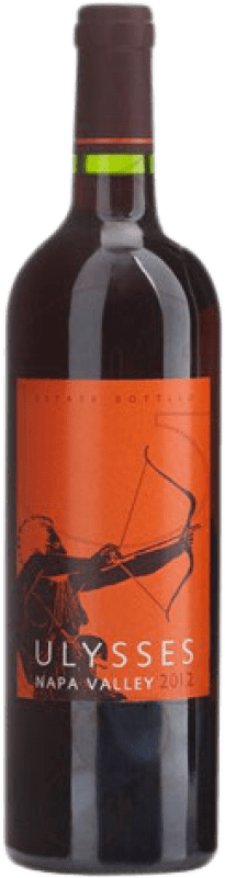 208,95 € Free Shipping | Red wine Jean-Pierre Moueix Ulysses I.G. Napa Valley California United States Cabernet Sauvignon, Cabernet Franc, Petit Verdot Bottle 75 cl