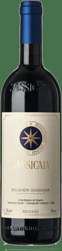 449,95 € Free Shipping   Red wine San Guido Sassicaia D.O.C. Bolgheri Tuscany Italy Cabernet Sauvignon, Cabernet Franc Bottle 75 cl