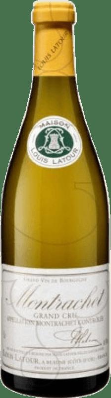 783,95 € Free Shipping | White wine Louis Latour Grand Cru Crianza A.O.C. Montrachet Burgundy France Chardonnay Bottle 75 cl