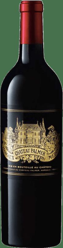 479,95 € Free Shipping | Red wine Château Palmer 2010 A.O.C. Margaux Bordeaux France Merlot, Cabernet Sauvignon, Petit Verdot Bottle 75 cl