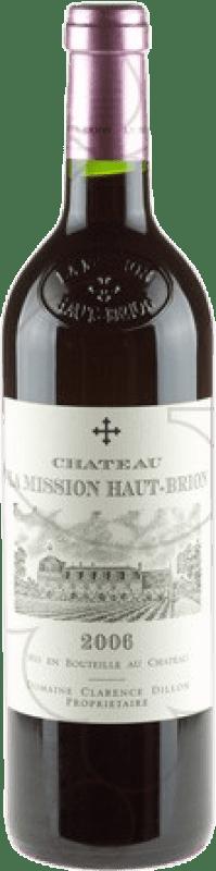 301,95 € Free Shipping | Red wine Château La Mission Haut-Brion A.O.C. Pessac-Léognan Bordeaux France Merlot, Cabernet Sauvignon, Cabernet Franc Bottle 75 cl