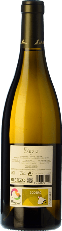 13,95 € Free Shipping   White wine El Zarzal Joven D.O. Bierzo Castilla y León Spain Godello Bottle 75 cl