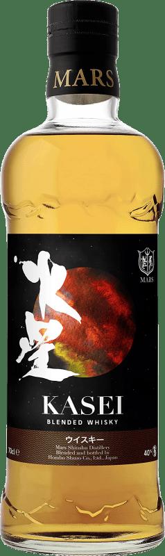 56,95 € Free Shipping | Whisky Blended Kasey Mars Reserva Japan Bottle 70 cl