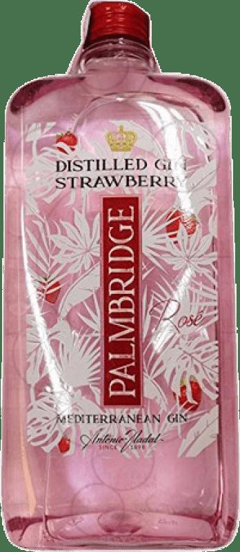 12,95 € Free Shipping   Gin Antonio Nadal Palmbridge Strawberry Spain Petaca 1 L