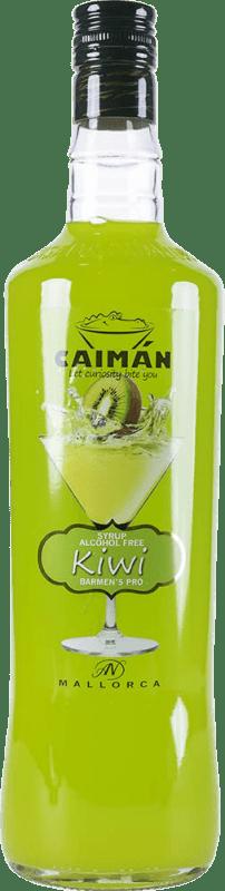 6,95 € Free Shipping | Schnapp Antonio Nadal Caimán jarabe Kiwi sin alcohol Spain Missile Bottle 1 L