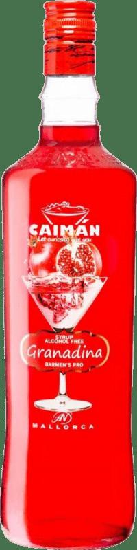 6,95 € Free Shipping | Schnapp Antonio Nadal Caimán jarabe Granadina sin alcohol Spain Missile Bottle 1 L