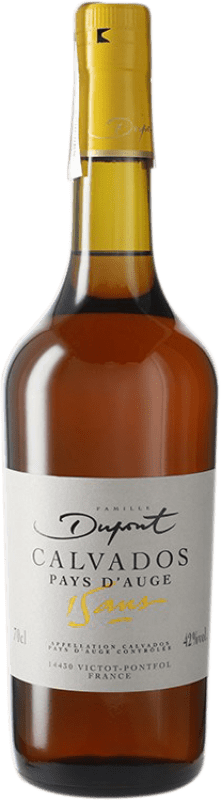 131,95 € Free Shipping | Calvados Domaine Dupont 15 Años I.G.P. Calvados Pays d'Auge France Bottle 70 cl