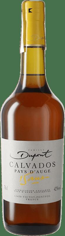 131,95 € 免费送货 | 卡尔瓦多斯 Domaine Dupont 15 Años I.G.P. Calvados Pays d'Auge 法国 瓶子 70 cl