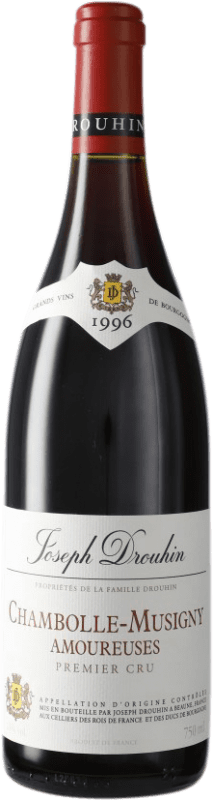 784,95 € Free Shipping | Red wine Drouhin 1er Cru Amoureuses 1996 A.O.C. Chambolle-Musigny Burgundy France Pinot Black Bottle 75 cl