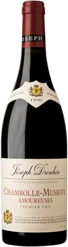985,95 € Free Shipping | Red wine Drouhin 1er Cru Amoureuses 1990 A.O.C. Chambolle-Musigny Burgundy France Pinot Black Bottle 75 cl
