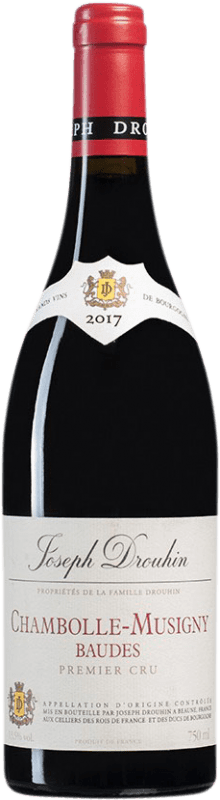 105,95 € | Red wine Drouhin 1er Cru Baudes A.O.C. Chambolle-Musigny Burgundy France Pinot Black Bottle 75 cl
