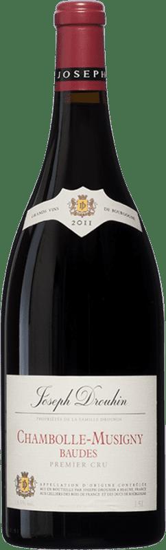 242,95 € 免费送货 | 红酒 Drouhin 1er Cru Baudes A.O.C. Chambolle-Musigny 勃艮第 法国 Pinot Black 瓶子 Magnum 1,5 L