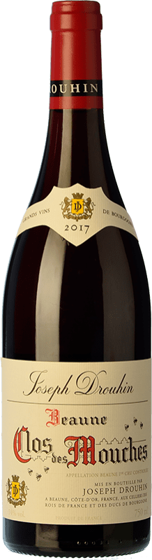 119,95 € Free Shipping | Red wine Drouhin 1er Cru Clos des Mouches Rouge A.O.C. Côte de Beaune Burgundy France Pinot Black Bottle 75 cl
