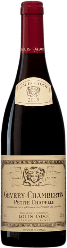 123,95 € | Red wine Louis Jadot 1er Cru Petite Chapelle A.O.C. Gevrey-Chambertin Burgundy France Pinot Black Bottle 75 cl