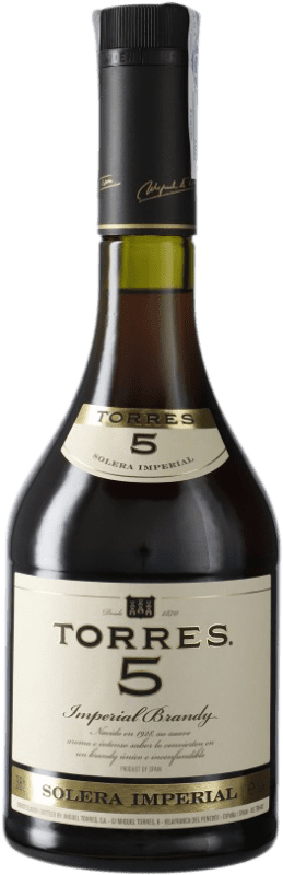 11,95 € Free Shipping | Brandy Torres 5 D.O. Penedès Catalonia Spain Bottle 70 cl