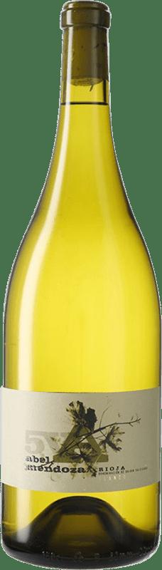 67,95 € Free Shipping | White wine Abel Mendoza 5V D.O.Ca. Rioja Spain Magnum Bottle 1,5 L