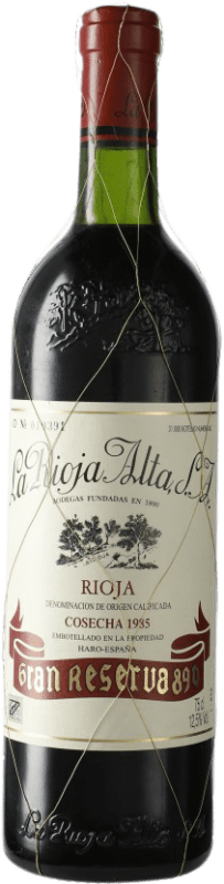 167,95 € Free Shipping | Red wine Rioja Alta 890 Selección Especial Gran Reserva 1985 D.O.Ca. Rioja Spain Tempranillo Bottle 75 cl