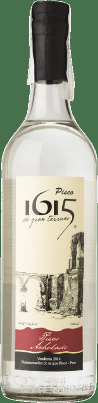 21,95 € 免费送货 | Pisco Pisco 1615 Acholado 秘鲁 瓶子 70 cl