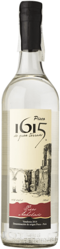 21,95 € Free Shipping | Pisco Pisco 1615 Acholado Peru Bottle 70 cl