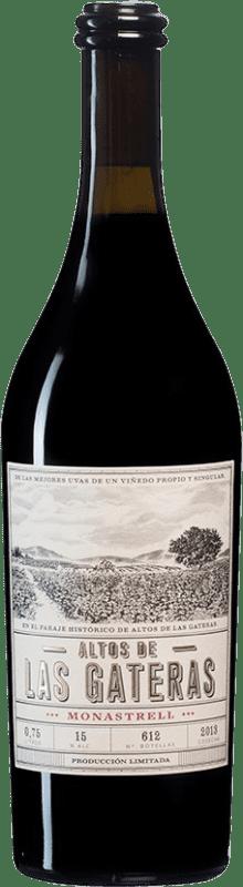 41,95 € Envío gratis | Vino tinto Castaño Altos de las Gateras D.O. Yecla España Monastrell Botella 75 cl